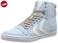 Slimmer Stadil Low, Sneakers Basses mixte adulte, Gris (Castle Rock/white Kh), 38 EUHummel