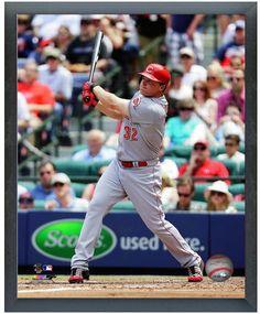 Jay Bruce 2014 Cincinnati Reds -11 x14 Photo in Glassless Black Sports Frame