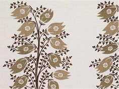 Instead of upholstering chairs, I'd use this handprinted Raoul Textiles fabric to upholster my walls!