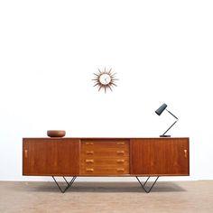 Mid Century Credenza, Midcentury Modern, Danish, Teak, Heaven, Furniture, Instagram, Home Decor, Living Room