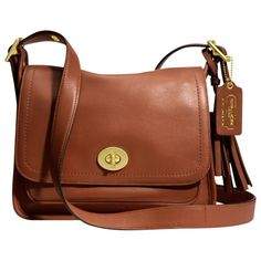 Coach Legacy Archival Rambler Cross Body Bag , Cognac found on Polyvore
