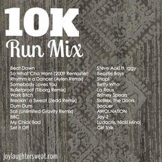 10K Run Mix