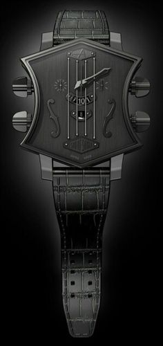 ♂ watch black ArtyA Son of Sound guitar shaped watch to debut at Baselworld 2013 Best Watches For Men, Amazing Watches, Cool Watches, Men's Watches, Stylish Watches, Fine Watches, Casual Watches, Beautiful Watches, Dream Watches
