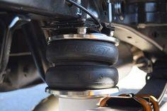 air lift load lifter air bag installed