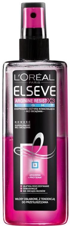 W Klubie Ekspertek możesz przetestować i ocenić L'Oreal Paris Odżywka do Włosów L'oreal Elseve Arginine Resist X3 Light Ekspresowa odżywka wzmacniająca 150 ml (pinterest)