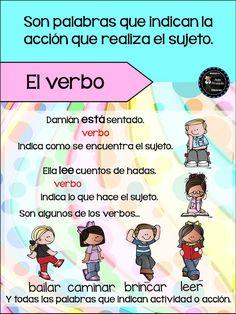Printing Education For Kids Printer Code: 8755231867 Spanish Worksheets, Spanish Teaching Resources, Spanish Activities, Spanish Lessons, Learn Spanish, Spanish Games, Bullet Journal School, 4th Grade Reading, Classroom Language