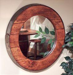 Barrel Ring Mirror