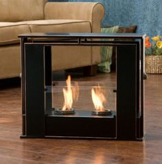 Wesley Indoor / Outdoor Portable Fireplace Only $113.99
