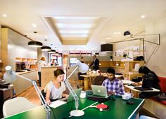 Central - The Best Place to Work on the High Street - Ping pong anyone!