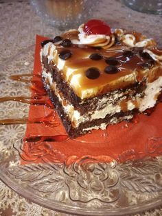 Sweet Recipes, Tiramisu, Caramel, Food And Drink, Cooking Recipes, Tasty, Sweets, Cake, Ethnic Recipes