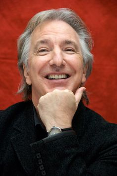 "Alan Rickman at ""Sweeney Todd: The Demon Barber of Fleet Street"" press conference at Claridges Hotel in London, England on November 26, 2007..."