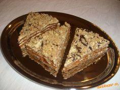 Medové rezy  kakaovo - karamelové