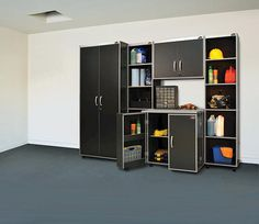 Charmant Xtreme Garage™ Open Tower Laminate Storage System   5 Piece