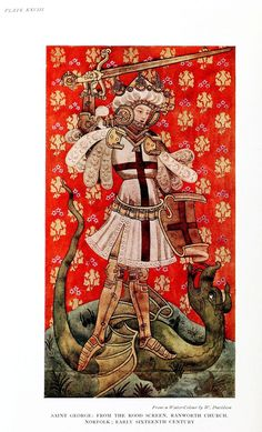 Medieval - Textile - St. George and the dragon.jpg