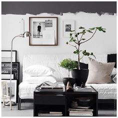 We Home Design — Compact living(room) Room Inspiration, Interior Inspiration, Design Inspiration, Half Painted Walls, Compact Living, Interior Paint Colors, Interior Painting, Living Room Paint, Dream Decor