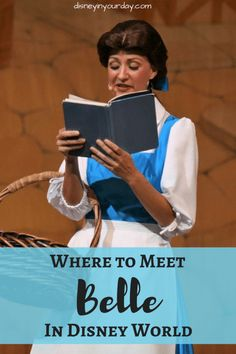 Curious about where to meet Belle on your next Disney trip? Find out all the spots she meets here, as well as where else you can see her and other touches of Beauty and the Beast throughout the Disney theme parks! Walt Disney World Orlando, Disney World Parks, Disney World Planning, Disney World Vacation, Disney Travel, Disney Cruise Tips, Disney Resorts, Disney Vacations, Disney World Characters