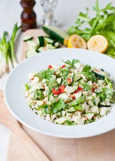 Green Apple and Macadamia Quinoa from Fresh Happy Tasty by Jane Coxwell via culinarycovers.com