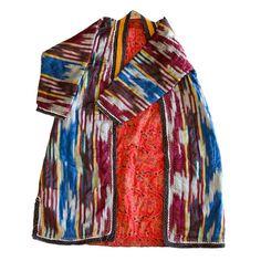 Uzbek Ikat Robe No. 2