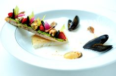 Turbot , mussle, truffle mariniere foam - The ChefsTalk Project