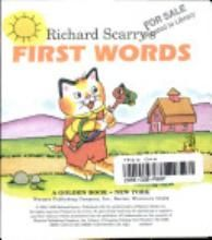 Richard Scarry's first words