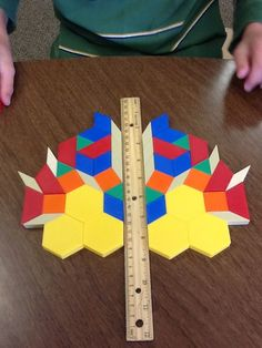 Much more complex for upper grades or kids who need a challenge-   Geometry Unit and Symmetry Activity