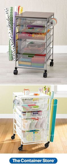 elfa wrapping cart at the container store elfa wrapping cart at the conta. elfa wrapping cart at the container store elfa wrapping cart at the container store Wrapping Paper Storage Container, Wrapping Paper Organization, Toy Storage Boxes, Wall Storage, Craft Storage, Storage Containers, Room Organization, Wrapping Papers, Gift Wrapping