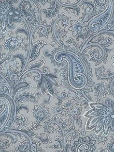 / Field Guide -- Belair Studios Page 70 / Paisley Swirl Paisley Wallpaper, Home Wallpaper, Paisley Flower, Wall Borders, Color Plata, Branding, Gifts For Pet Lovers, Elegant Homes, Print Patterns