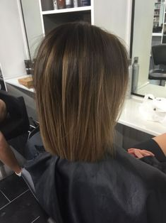 Brunette Balayage & Hair Highlights Picture Description in love with this colour - Medium Hair Styles, Short Hair Styles, Hair Shades, Pinterest Hair, Brunette Hair, Brunette Ombre, Hair Highlights, Balayage Hair, Balayage Brunette Short
