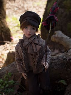 Oliver was sculpted of polymer clay with strong steel armature inside. All clothes (two sets) were sewed by the hand of cotton,linen and silk fabrics, shoes were sewed of real leather, hair was made of mohair. Oliver Twist, Boys Who, Silk Fabric, Cotton Linen, Real Leather, Art Dolls, Sculpting, Winter Hats, Romantic