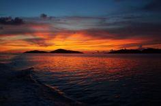 Euriental | fashion & luxury travel | travel in the Philippines, Palawan, Busuanga Bay Lodge sunset cruise
