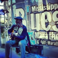 """The only """"blues and exercise"""" event in the history of Mississippi! (Moonshine, soul food and BBQ aren't often seen at marathons...) Seriously, this is an excellent blues event every January in Jackson, MS. Come visit the Cat Head and Broke & Hungry Records booth."""