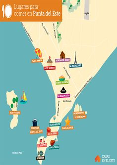 10 restaurantes que puedes visitar en Punta del Este. #PuntadelEste #Turismo #Uruguay