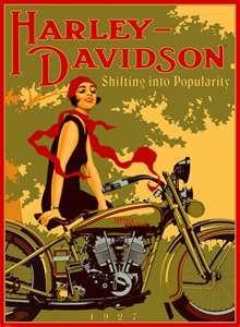 Harley Davidson advertisement