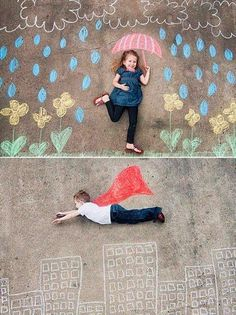 The Alpha Parent: 100 Things To Do With Just A Piece of Chalk