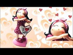 Valentine's day figurine- Polymer clay (Fimo) Tutorial http://instagram.com/sandrartesyt http://sandrartes.blogs.sapo.pt/ https://twitter.com/sandrartes1 htt...