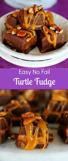 Easy Turtle Fudge