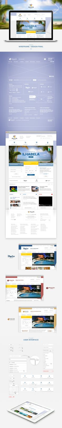 Site Institucional   Allia Hotels   Projetos   OW Interactive