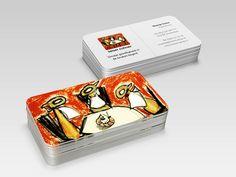Business cards for Keizer Culinair by Green Creatives Advertising agency - business card design - visite kaartje - logo - branding - branddesign Business Card Design, Business Cards, Logo Branding, Branding Design, Advertising Agency, Creative, Green, Visit Cards, Carte De Visite