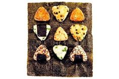 Recipes: Onigiri is a fun Japanese finger food. Make onigiri in a variety of shapes and with any of a number of fillings.