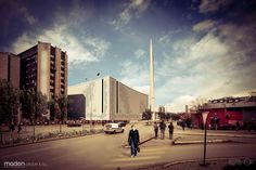 Central Mosque of Pristina by Maden GROUP