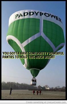 PANTIES IN THE AIR