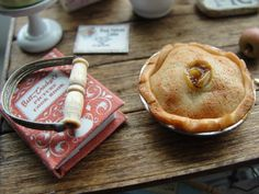 More mini pie love. Made with polymer clay
