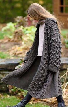 Cisa Sweater & Cerro Coat HANIA by Anya Cole Fall 2016