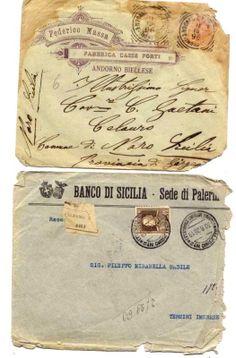 Handwritten vintage italian ephemera by StupidFlamingo on Etsy