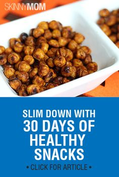 We have tons of healthy snacks for you! Check them out here
