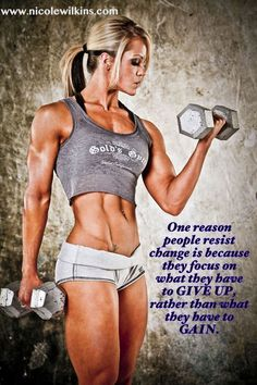 Nicole Wilkins Click Picture to get in shape today and build those strong hard…