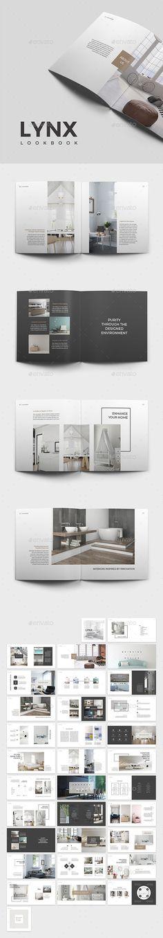 Lynx Lookbook Template - Catalogs Brochures