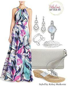 2016       floral maxi dress