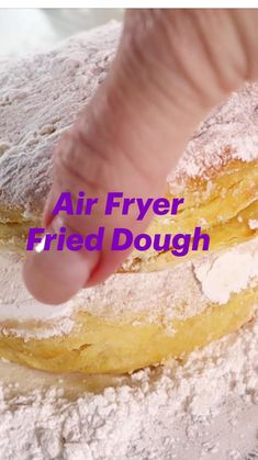 Air Fryer Oven Recipes, Air Frier Recipes, Air Fryer Cooking Times, What's Cooking, Cinnamon Roll Bread, Fried Pickles, Air Frying, Baked Donuts, What To Cook