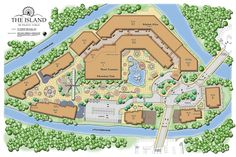 the island pigeon forge map